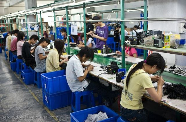 China factory line